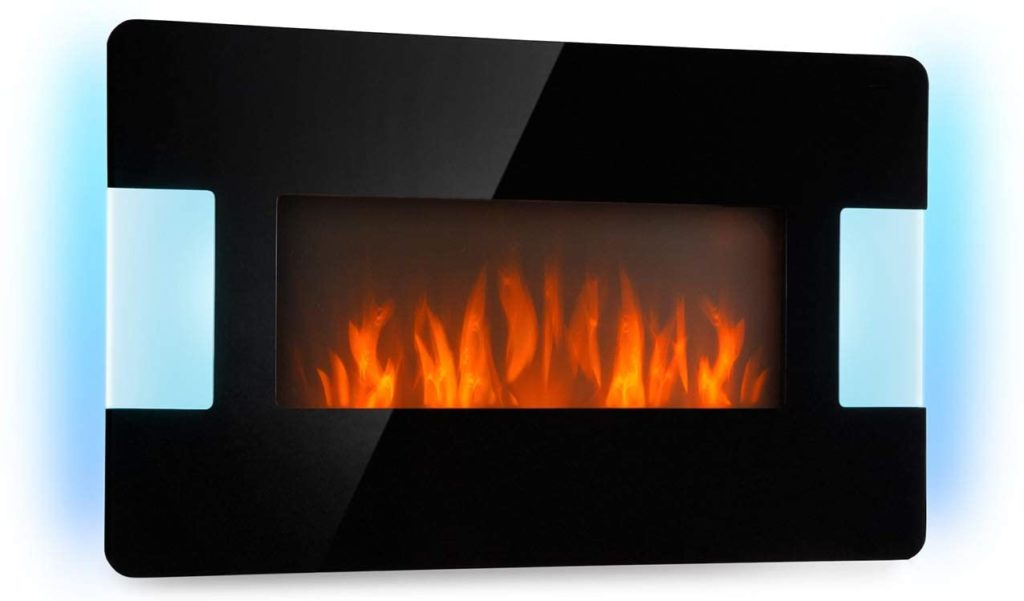 KLARSTEIN Belfort Light & Fire test